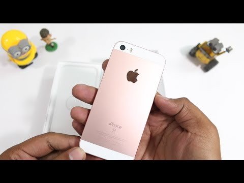 Apple iPhone SE India Unboxing & Hands on Overview (Rose Gold)