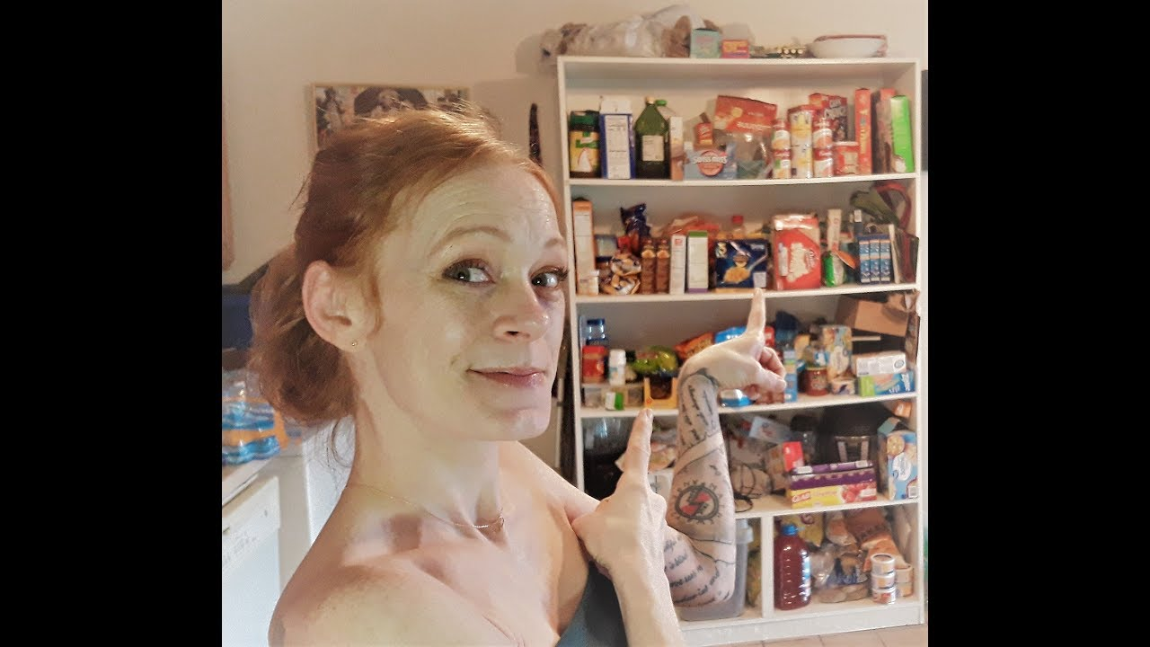 Monday Cleaning Motivation Organize And Declutter Pantry Clean With Me