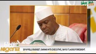 2019 Polls Budget:  Saraki Hits Executive, Says It Lacks Foresight