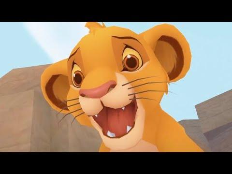 THE LION KING   Kingdom Hearts   Gameplay ᴴᴰ