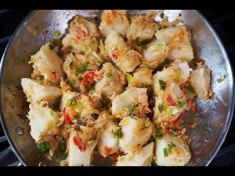 Boil And Fry Yam | CaribbeanPot.com