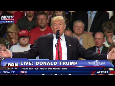 FULL: Donald Trump Thank You Tour 2016 - Des Moines, Iowa 12/8/2016
