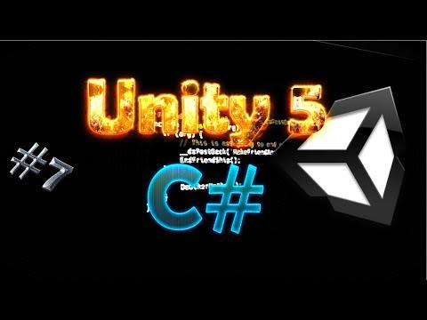 TUTORIAL Unity 5 - Aprenda C# (transform, translate, rotation, eulerAngles  ,etc) Aula 7
