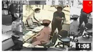 VIDEO: Une infirmière se fait passer à tabac par le mari d