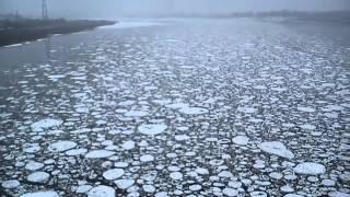 Великий Устюг, ледоход. 19 апреля 2015 года