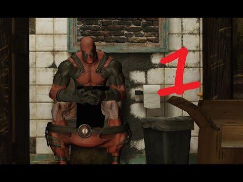 Deadpool Прохождение Серия 1 ( Квартира Дэдпула)