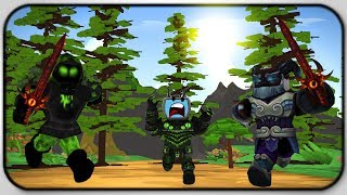 Being Chased By Giant Titans With Swords - Roblox Titan Simulator