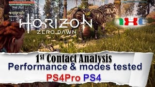 Horizon Zero Dawn: Performance & modes tested PS4/PS4Pro