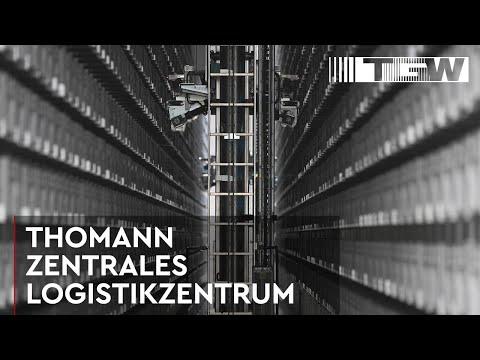 THOMANN, Neues Logistikzentrum für eCommerce-Riesen (german)