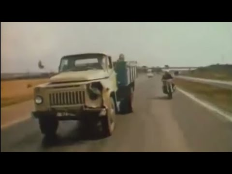 GAZ - 53 Drug Car Chase!