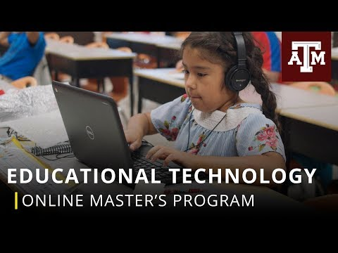Online Master's Program: Educational Technology