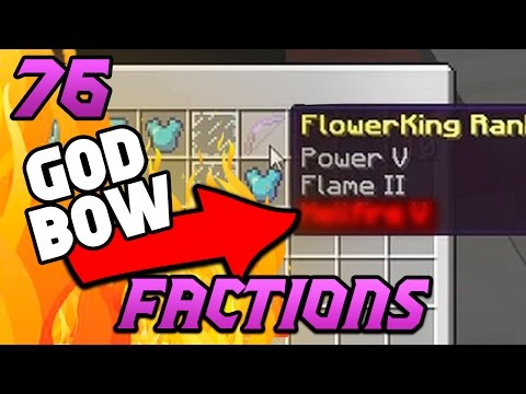 1 ENCHANT = GOD BOW?! Minecraft COSMIC Faction Episode 76