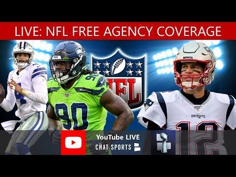 2020 NFL Free Agency Live - DeAndre Hopkins Trade, Deforest Buckner Trade + Bryon Jones To Dolphins