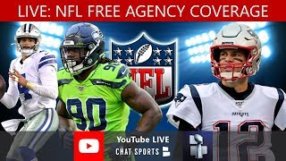 2020 NFL Free Agency Live - DeAndre Hopkins Trade, Deforest Buckner Trade + Bryon Jones To Dolphins