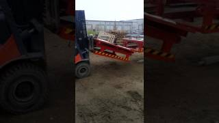 2004 Alimac Hek MS 5000 Mast Climbing Scaffold (Off-Site) Side Plank Removal