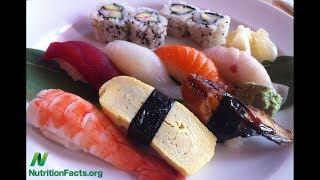 Fekální kontaminace sushi