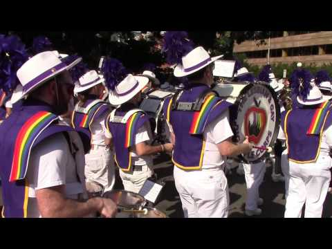 "The Lesbian & Gay Big Apple Corps Marching Band Performing  ""No."""
