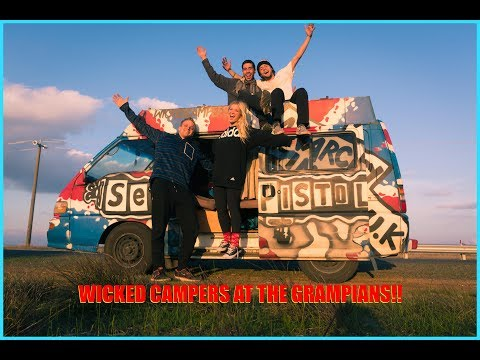 The Grampians With Wicked Campers! [4K]