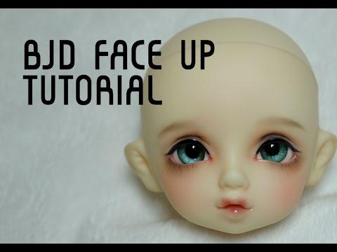 bjd faceup tutorial