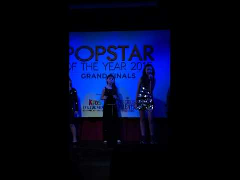 Melissa Hecker - PopStar of the Year - Grand Champion sing-off!