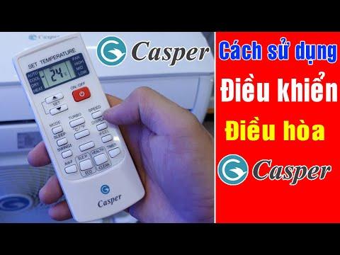 Cách sử dụng điều khiển điều hòa Casper | Điện Máy Phú Thọ Online