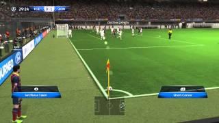 Gameplay Barselona & AC Milan PES 14 PC