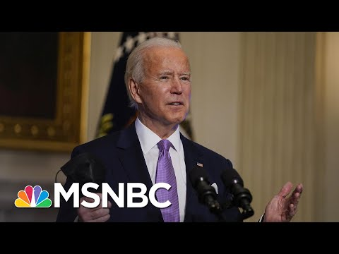 Biden Backs Lower Income Cap For Direct Payments In Covid Relief Package | Craig Melvin | MSNBC