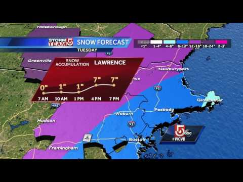 Storm timeline: When worst of snow will hit