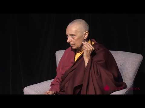 Tenzin Palmo Teaching, Wheel of Life, Samsara in the Raw 7 of 12