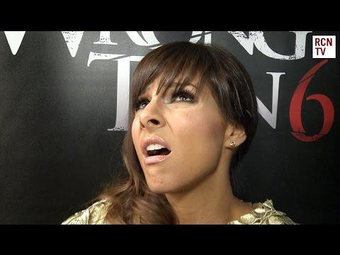 Roxanne Pallett Interview - Funny Sex Scene - Wrong Turn 6 Premiere