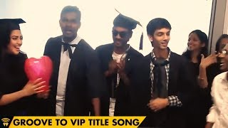 Download Hindi Video Songs - Dhanush, Anirudh & Amala Paul groove to VIP Title Song