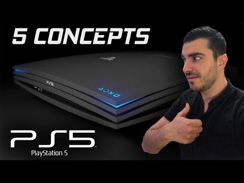 5 SUPERBES CONCEPTS DE PS5!