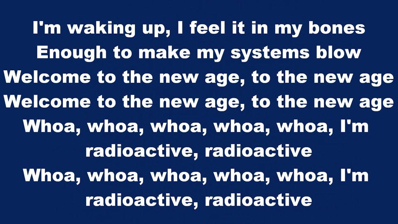 Radioactive by Imagine Dragons - lyrics. - YouTube