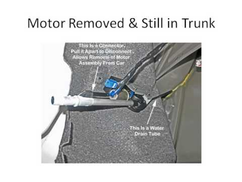 2002 Toyota Camry Wiring Diagram Removing Camry Power Antenna Motor Youtube