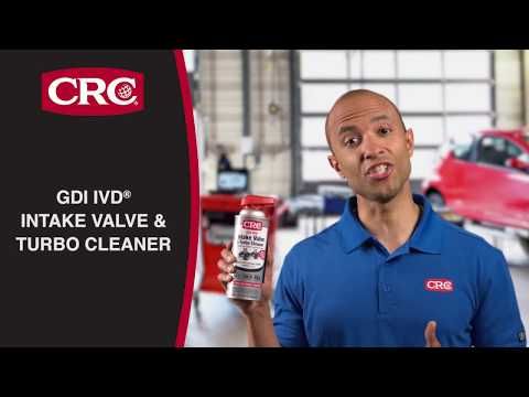 How To Remove Carbon From Intake Valves & Turbos Using CRC GDI IVD® Intake Valve & Turbo Cleaner