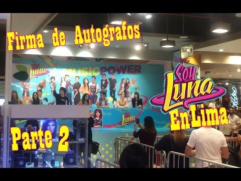 Soy Luna en Lima-Perú: Firma de Autógrafos Parte 2