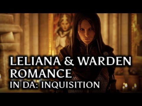 Dragon Age: Inquisition - Leliana & the Warden Romance in DAI (all scenes)