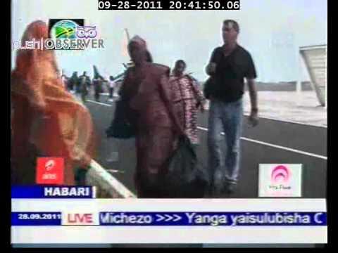 PRECISION AIR TO INCREASE COMORO ROUTE ON TBC NEWS 28/09/2011