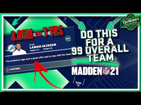 DO THIS SECRET Practice Squad Method to get a 99 Overall Team | Madden 21 Franchise Mode