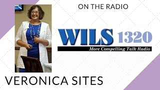 Live on the Radio in Lansing | Veronica Sites