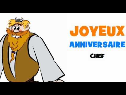Joyeux Anniversaire Chef Youtube
