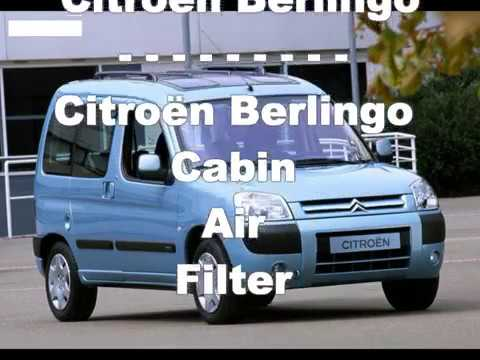 Citroen Berlingo C POLLEN FILTER