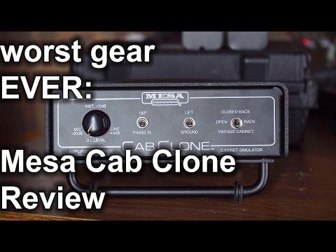 Worst Gear EVER!! Mesa Cab Clone Review | SpectreSoundStudios
