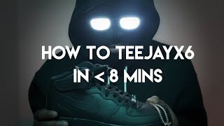 How to Teejayx6 in Under 8 Minutes | FL Studio Detroit Type Beat and Rap Tutorial