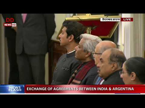 Full Event: Joint press statement by PM Modi and Argentinian President Mauricio Macri