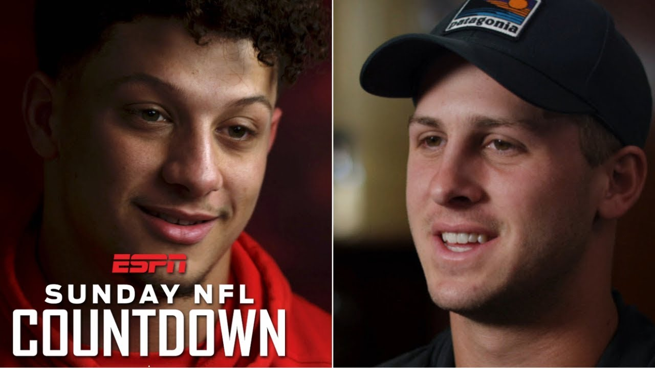 Jared Goff, Patrick Mahomes talk rivalry, expectations in Rams-Chiefs match up | NFL Countdown