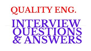 quality control interview questions and answers for experienced in pharma