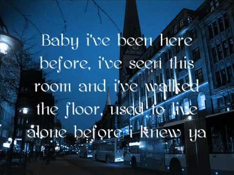 Hallelujah- K.D Lang with Lyrics.
