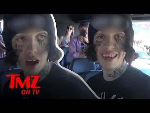 Lil Xan Gets On The TMZ Tour! | TMZ TV