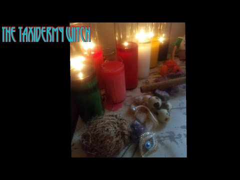 Disposing of offerings & how long 2 wait- THE TAXIDERMY WITCH